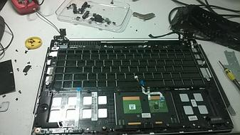 Замена клавиатуры на ноутбуке Asus vivobook s400. 1