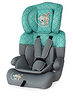 Автокресло Lorelli  Junior Plus 9-36 кг Серо-зеленый / Grey&Green Best Friends 1704