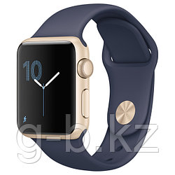 (MQ102RU/A) Смарт-часы Apple Watch S1 Sport 38mm Gold Al/Blue