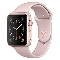 (MQ112RU/A) Смарт-часы Apple Watch S1 Sport 42mm Rose Gold Al/Pink
