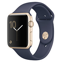 (MQ122RU/A) Смарт-часы Apple Watch S1 Sport 42mm Gold Al/Blue