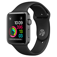 (MP032RU/A) Смарт-часы Apple Watch S1 Sport 42mm Sp.Grey Al/Black