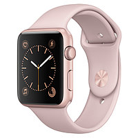 (MQ142RU/A) Смарт-часы Apple Watch S2 Sport 42mm Rose Gold Al/Pink