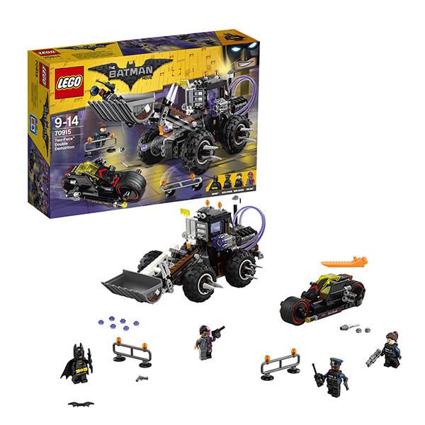 Lego Batman Movie : Разрушительное нападение Двуликого 70915
