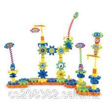 Робототехника. Набор-конструктор для изучения простых механизмов (  79 предметов) (4-8 лет)