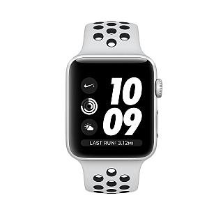 Apple Watch 38mm Nike+ Silver Aluminum Case with Pure Platinum/Black Nike Sport Band