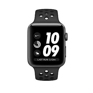 Apple Watch 38mm Nike+ Space Gray Aluminum Case with Anthracite/Black Nike Sport Band