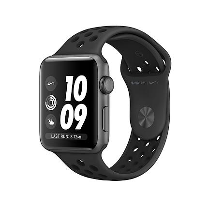 Apple Watch 38mm Nike+ Space Gray Aluminum Case with Anthracite/Black Nike Sport Band, фото 2