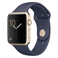 (MQ152RU/A) Смарт-часы Apple Watch S2 Sport 42mm Gold Al/Blue