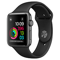 (MP062RU/A) Смарт-часы Apple Watch S2 Sport 42mm Sp.Grey Al/Black