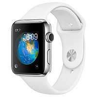 (MNPR2RU/A) Смарт-часы Apple Watch S2 Sport 42mm St.Steel/White