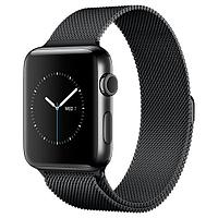 (MNQ12RU/A) Смарт-часы Apple Watch S2 42mm Space Black Stainless Steel/Space Black Milanese