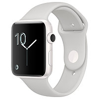 (MNPQ2RU/A) Смарт-часы Apple Watch Edition 42mm White Ceramic Case / Cloud Sport Band