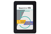 "SSD 120Gb Team Group L5 Lite, SATA III 6Гб/c, 500 Мбайт/с, 300 Мбайт/с, 2.5"", bulk (T2535T120G0C101)"