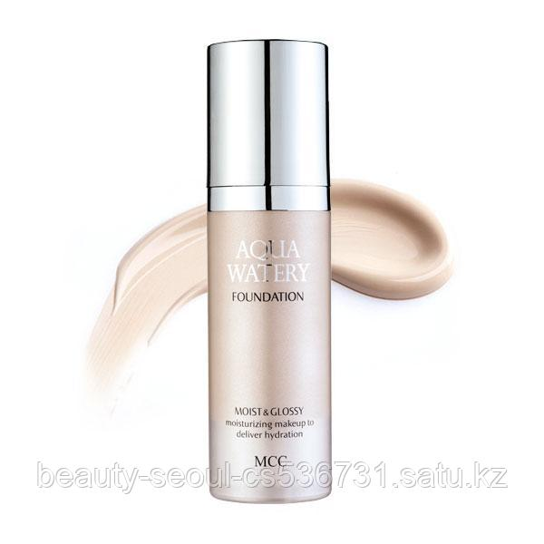 Тональная основа AQUA WATERY FOUNDATION no.21 light beige торговой марки MCC