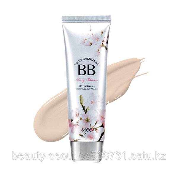 ВВ крем Purity Brightening [Cherry Blossom] no.1 light beige торговой марки MCC