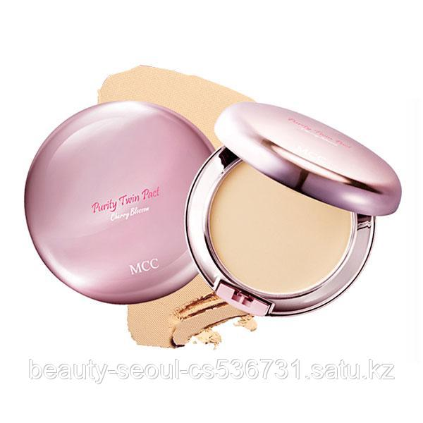 Пудра Purity TWIN PACT no.21 light beige торговой марки MCC