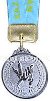 """Медаль рельефная """"Дзюдо"""" (серебро)"""