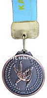 """Медаль рельефная """"Дзюдо"""" (бронза)"""