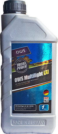 Моторное масло OWS Multilight LXI 10w40 1 литр