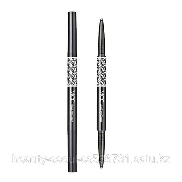 Автокарандаш для глаз DUAL EYELINER PENCIL no.10 TWIN BLACK торговой марки MCC