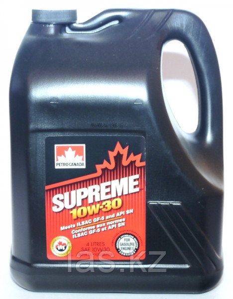 Моторное масло Petro Canada  Supreme 10w30 4 литра