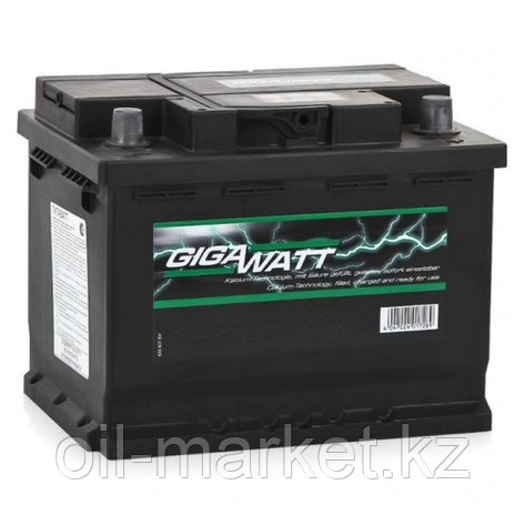 Аккумулятор Gigawatt 56 A/h, фото 2