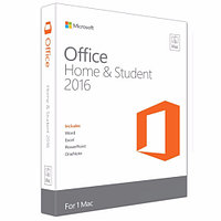 Microsoft Office Mac Home Student 2016 Russian Kazakhstan Only Mdls P2