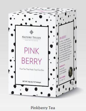 Чай для кожи и тела Pinkberry Tea, фото 2