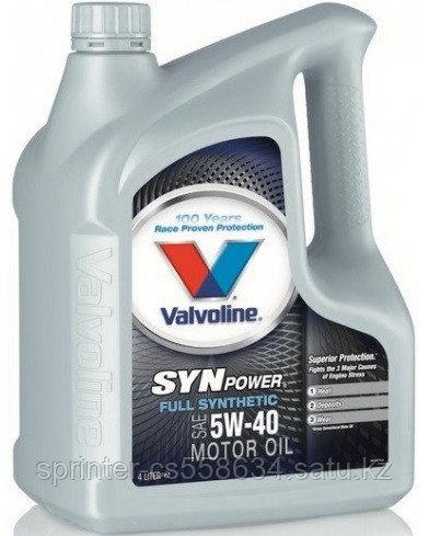 Моторное масло Valvoline SynPower 0W40 5 литров