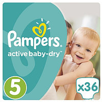 PAMPERS: Подгуз Active Baby Dry Junior 36 (81624121) 946881