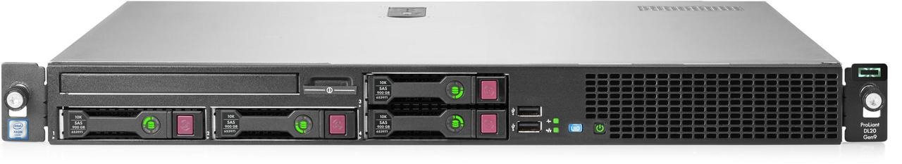 Сервер HPE ProLiant DL20 Gen9 830702-425