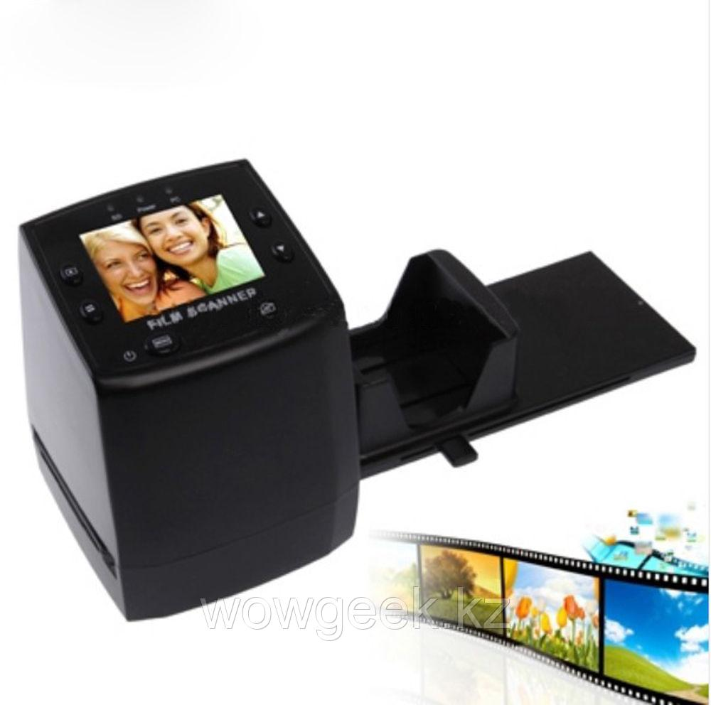 Сканер фотопленки с ЖК дисплем и слотом для CD карты (9Мп)