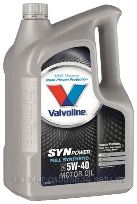 Моторное масло Valvoline SynPower 5W40 4 литра