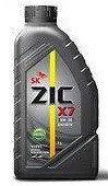 Моторное масло ZIC X7 5w40 1 литр