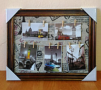 Коллаж на прищепках на 5 фото, фото 1