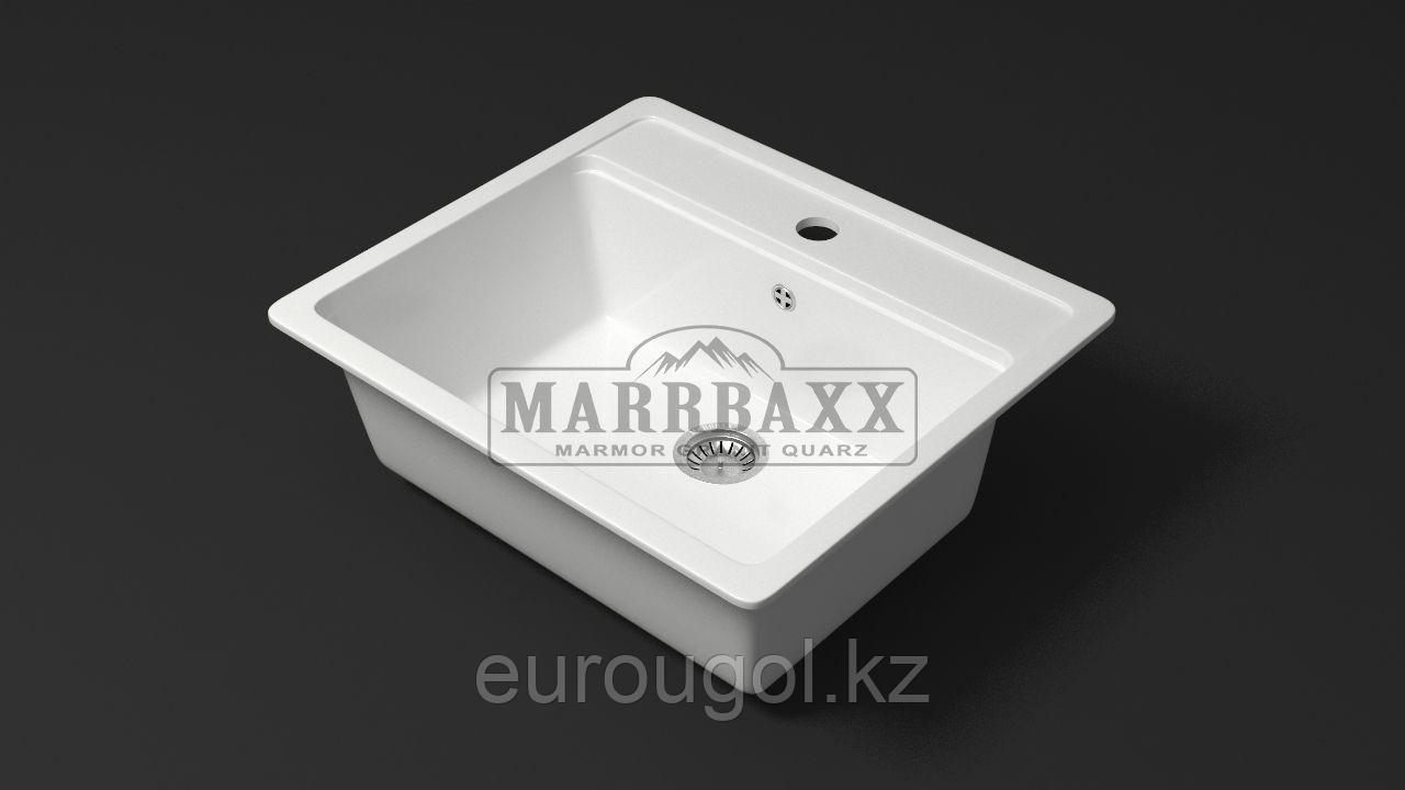 Глянцевая кухонная мойка Marrbaxx Джекки 56