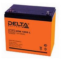 Delta аккумуляторная батарея DTM 1255 L (12 лет)