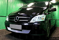 Защита радиатора Mercedes-Benz Vito III (W639) 2010-2014 chrome