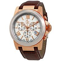 Guess Silver Dial Mens Chronograph Watch I41501G1