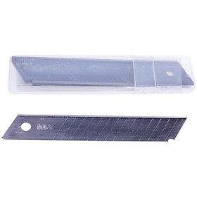 Лезвия для канцелярских ножей OfficeSpace, 18мм, 10шт., в пластиковом пенале