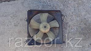 Вентилятор радиатора Toyota Caldina 1996г. (ST195)
