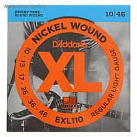 Струны D`Addario для электрогитары Regular Light 10-46