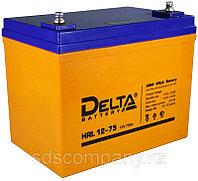 Delta аккумуляторная батарея HRL12-75