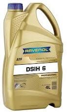 Трансмиссионное масло RAVENOL ATF DSIH 6 4 литра