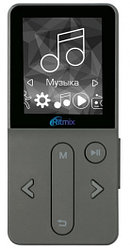 MP3 плеер RITMIX RF-4910 4Gb Dark Gray, Алматы