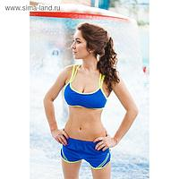 Топ спортивный ONLITOP Summer dark blue р-р L