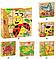 Кубики детские. Дерево 6в1 картинки, фото 3