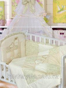 Комплект для кроватки Золотой Гусь Кошки-Мышки, желтый
