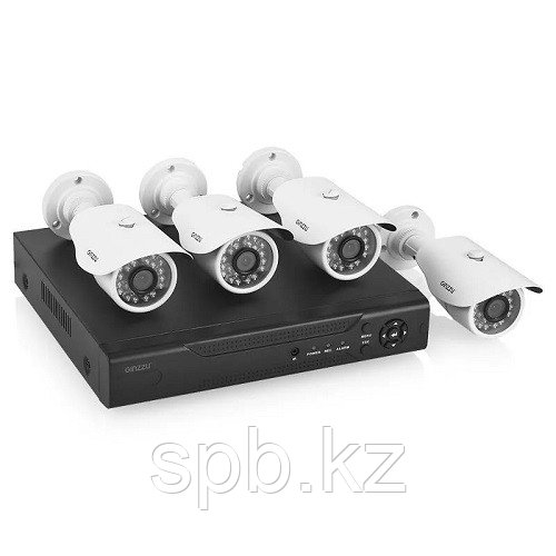 Видеонаблюдение на 4 AHD камеры
